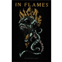 In Flames Spine Patch