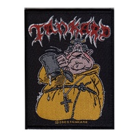Tankard Drunken Monk Woven Patch