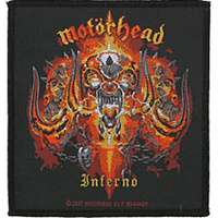 Motorhead Inferno Woven Patch