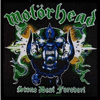 Motorhead Stone Deaf Forever Woven Patch