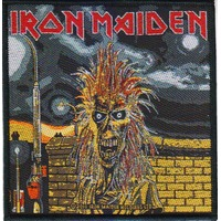 Iron Maiden Debut Album Self Titled Eddie Patch