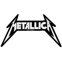 Metallica Shaped Logo Patch