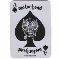 Motorhead Ace Of Spades Card Patch
