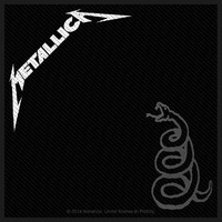 Metallica Black Album Patch