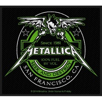 Metallica Beer Label Patch