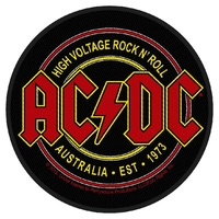 AC/DC High Voltage Rock N Roll Circular Patch