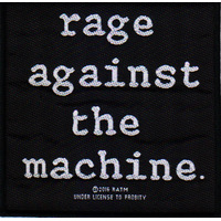 Rage Against The Machine Logo Patch