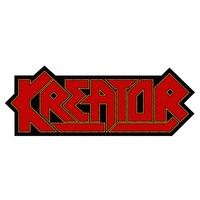 Kreator Logo Cut Out Patch