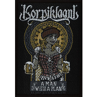 Korpiklaani A Man With A Plan Patch