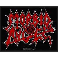 Morbid Angel Red Logo Patch