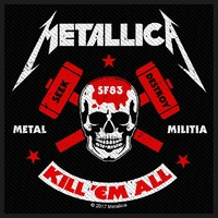Metallica Metal Militia Patch