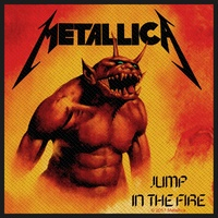 Metallica Jump In The Fire Patch