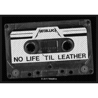 Metallica No Life Til Leather Patch