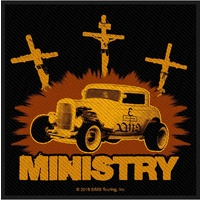 Ministry Jesus Built My Hot Rod Patch