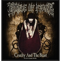 Cradle Of Filth Cruelty & The Beast Patch