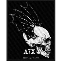 Avenged Sevenfold Skull Profile Patch