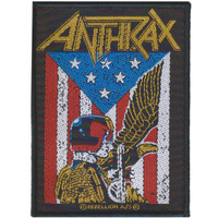 Anthrax Judge Dredd Patch
