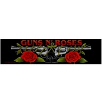Guns N Roses Logo Roses Strip Patch