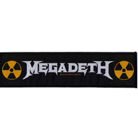 Megadeth Superstrip Logo Patch