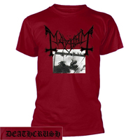 Mayhem Deathcrush Red Shirt