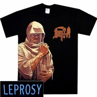 Death Leprosy Side Print Shirt