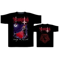 Necromantia Crossing The Fiery Path Black Shirt