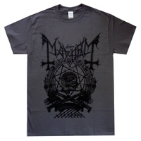 Mayhem Barbed Wire Grey Shirt