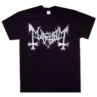 Mayhem Distressed Logo Shirt