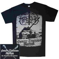 Marduk Panzer Division War Machine Shirt