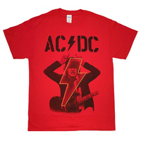 AC/DC Angus Pwr Up Red T-Shirt
