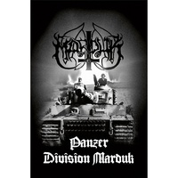 Marduk Panzer Division Marduk Poster Flag
