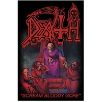 Death Scream Bloody Gore Poster Flag