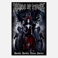 Cradle Of Filth Darkly Darkly Poster Flag