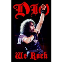Dio We Rock Poster Flag