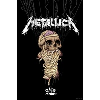 Metallica One Premium Fabric Poster Flag
