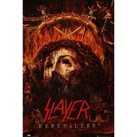 Slayer Repentless Poster Flag