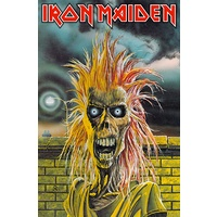 Iron Maiden Debut Album Premium Poster Flag