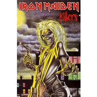 Iron Maiden Killers Premium Poster Flag