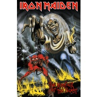 Iron Maiden Number Of The Beast Premium Poster Flag