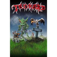 Tankard One Foot In The Grave Poster Flag