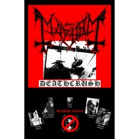 Mayhem Deathcrush Poster Flag