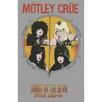 Motley Crue Shout At The Devil Poster Flag