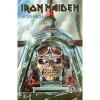 Iron Maiden Aces High Poster Flag