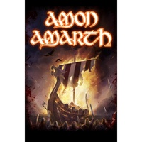 Amon Amarth 1000 Burning Arrows Poster Flag