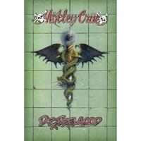 Motley Crue Dr Feelgood Album Poster Flag