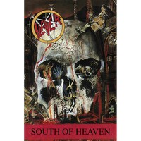 Slayer South Of Heaven Poster Flag