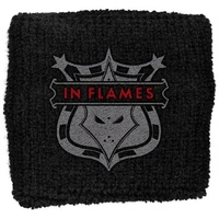 In Flames Shield Wristband
