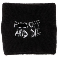 Darkthrone Fuck Off And Die Wristband Dark Throne