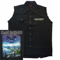 Iron Maiden Brave New World Sleeveless Work Shirt