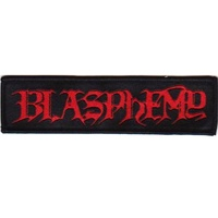Blasphemy Logo Patch